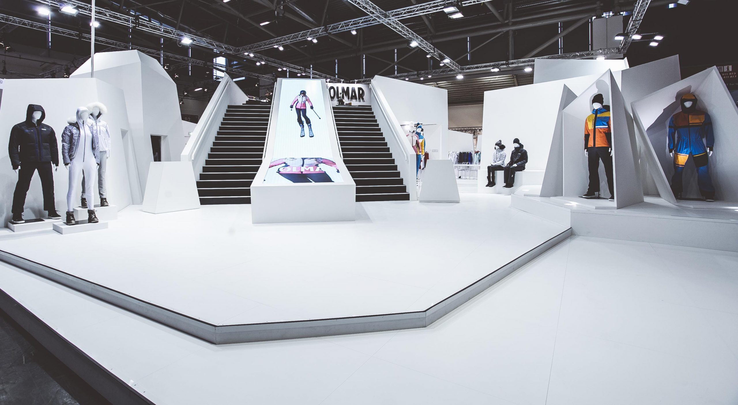 COLMAR Sport ISPO Munich stand exposition project 01