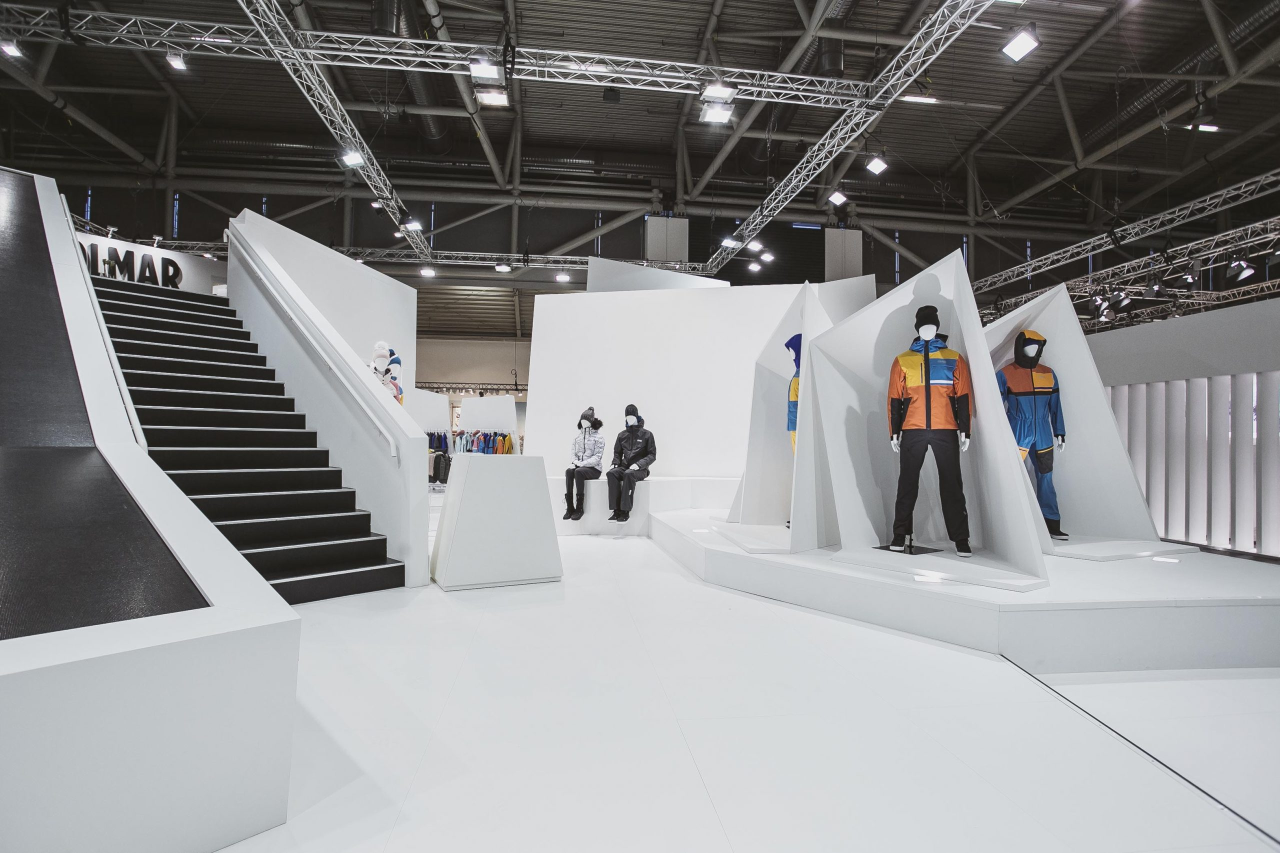 COLMAR Sport ISPO Munich stand exposition project 02