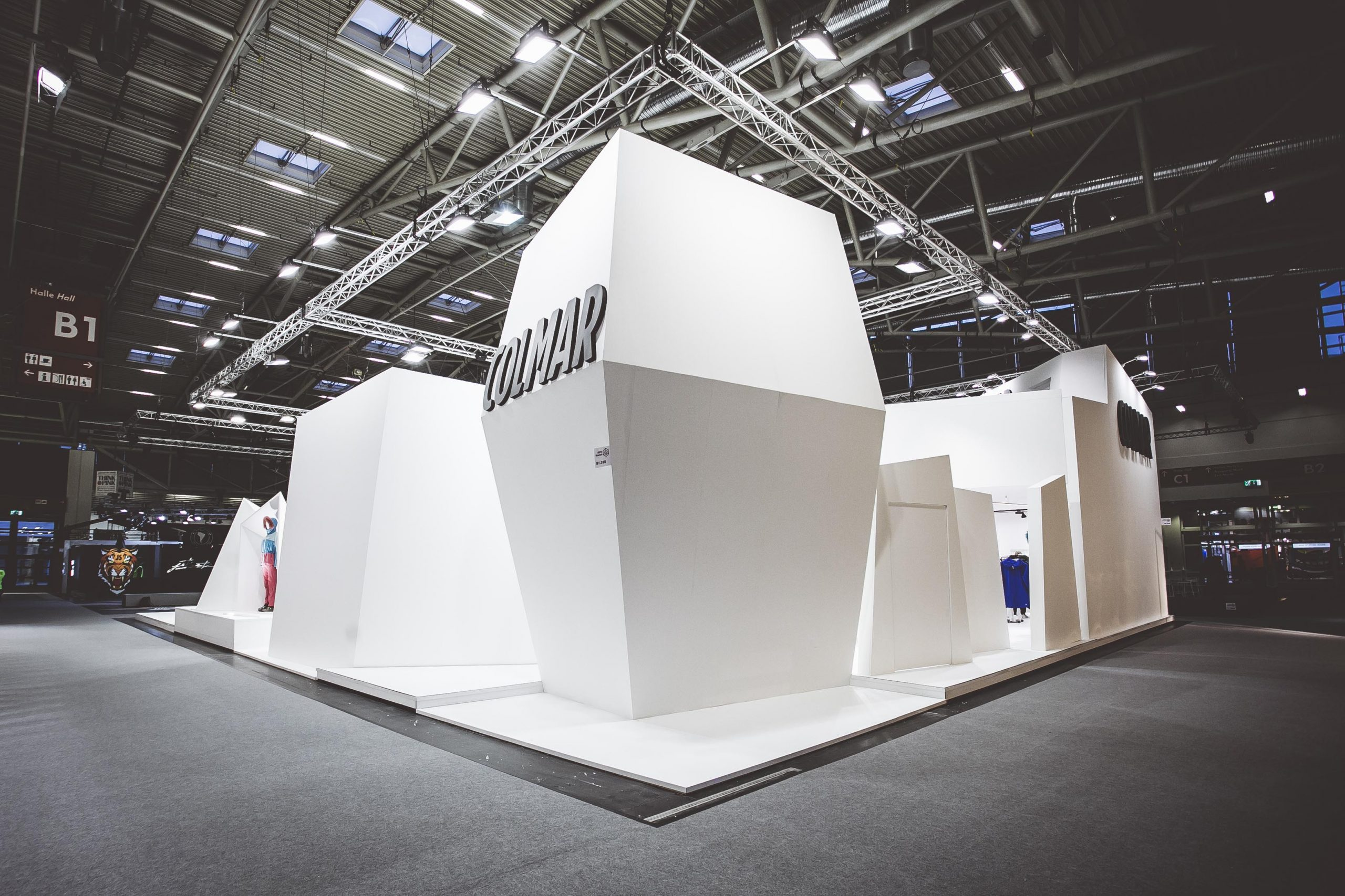 COLMAR Sport ISPO Munich stand exposition project 03
