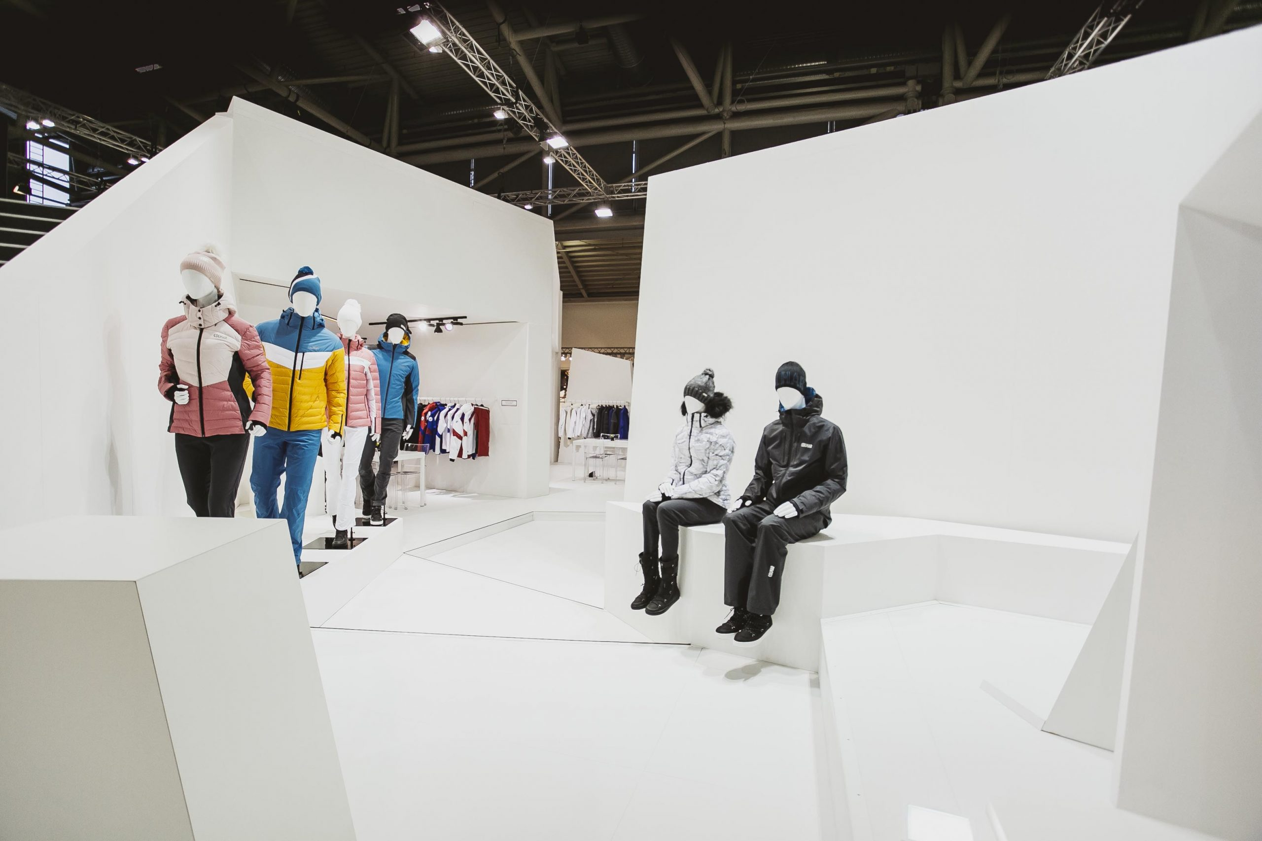 COLMAR Sport ISPO Munich stand exposition project 04