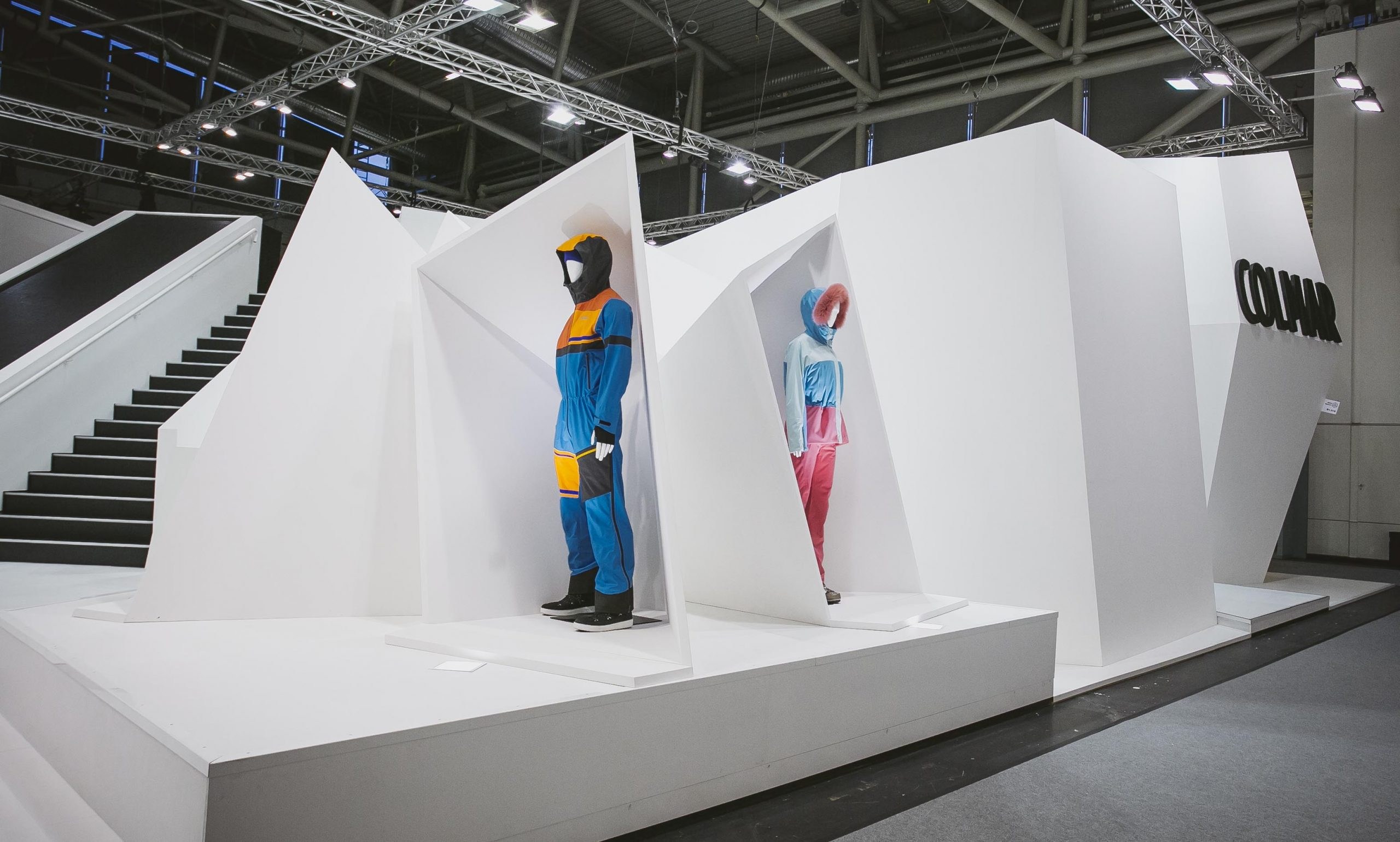 COLMAR Sport ISPO Munich stand exposition project 05