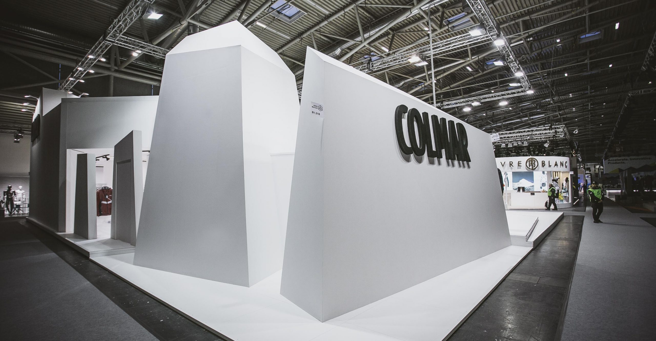 COLMAR Sport ISPO Munich stand exposition project 06