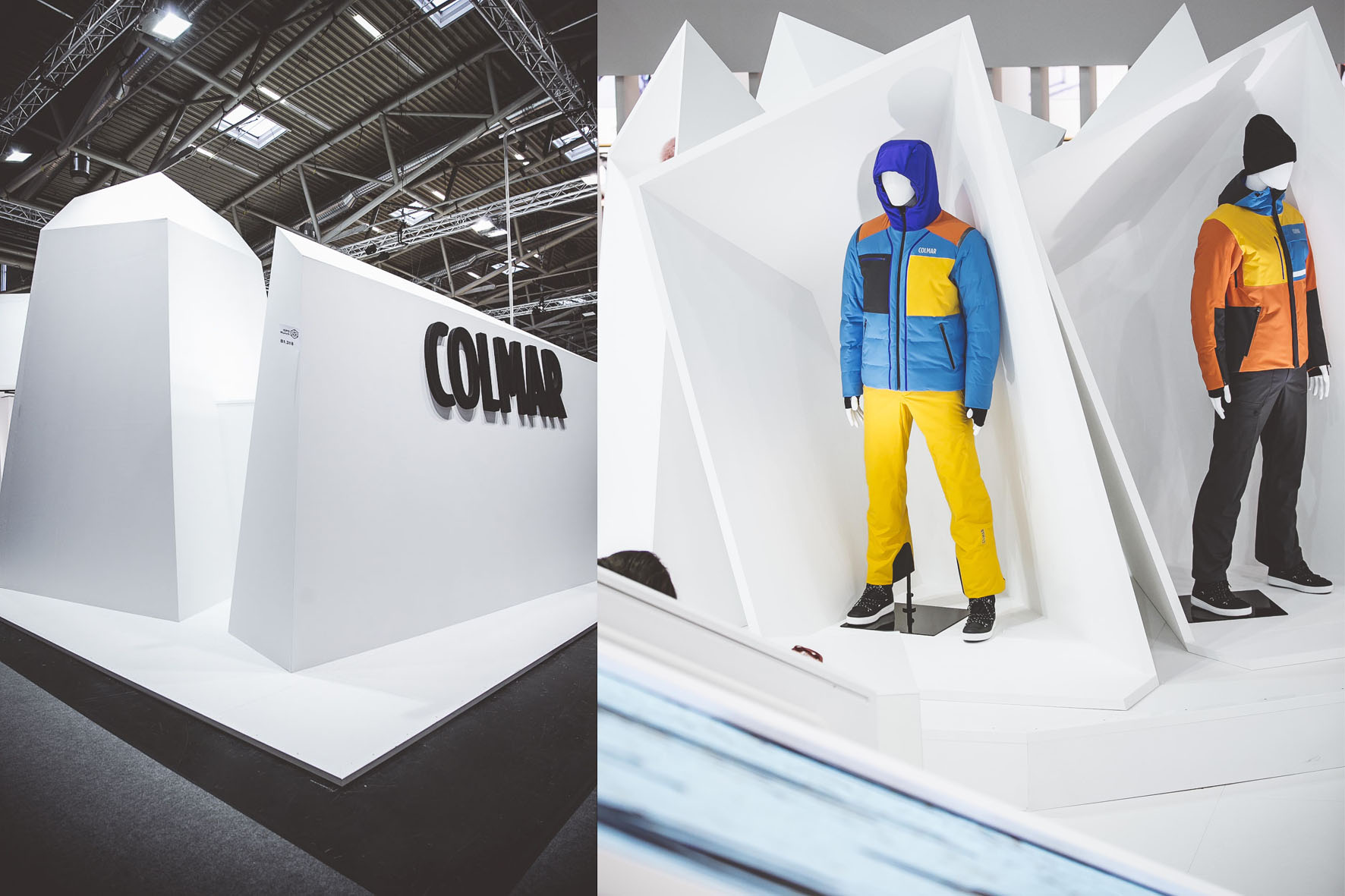 COLMAR Sport ISPO Munich stand exposition project 14