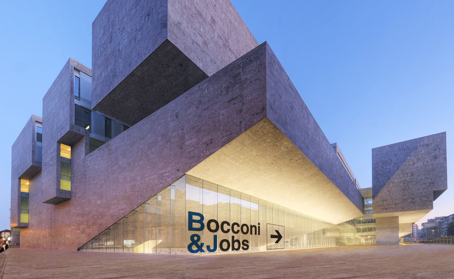 Bocconi & Jobs 2015 event area project 01