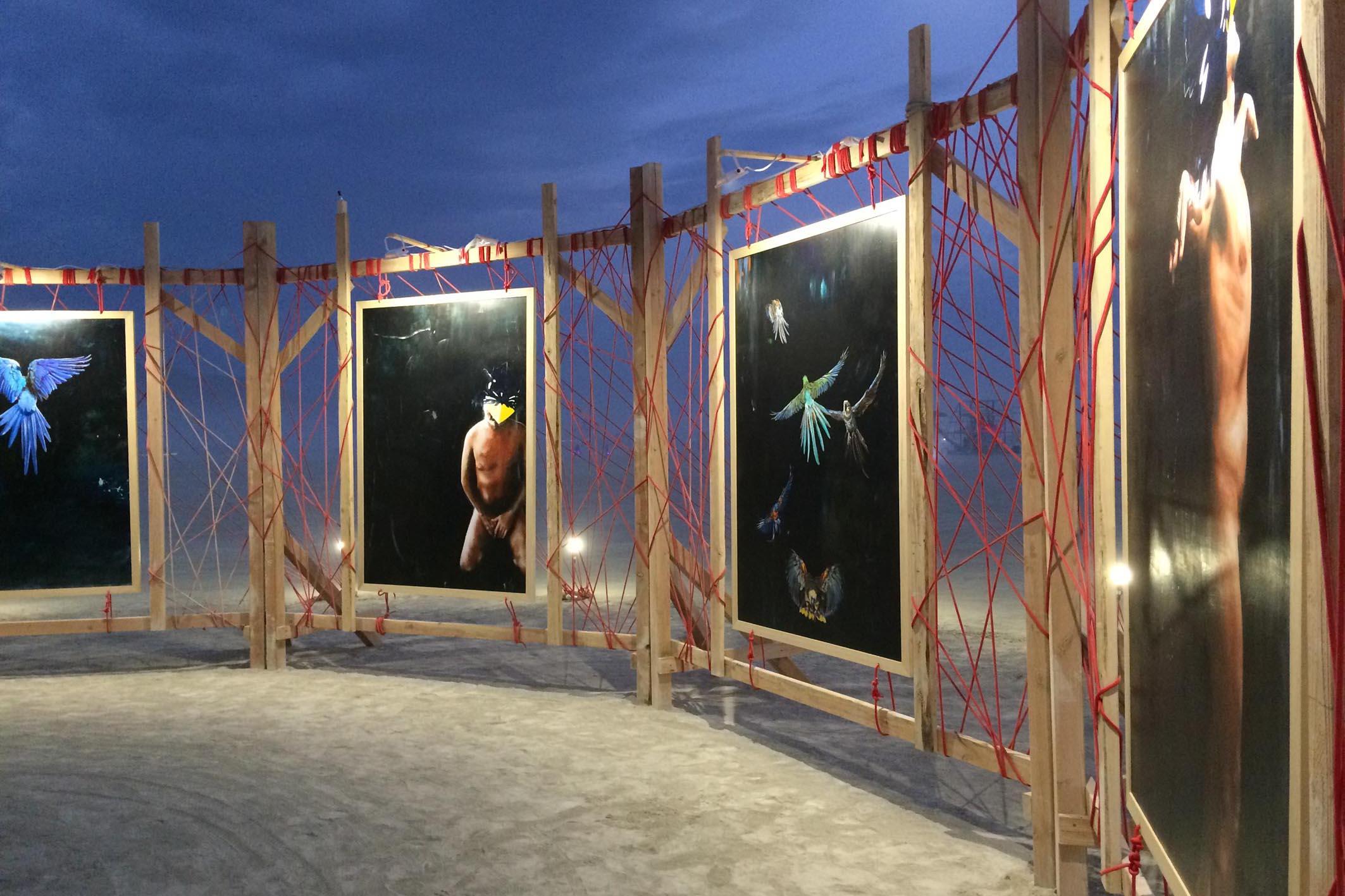 BurningMan 2017 Radical Rituals Art Project Installation 12
