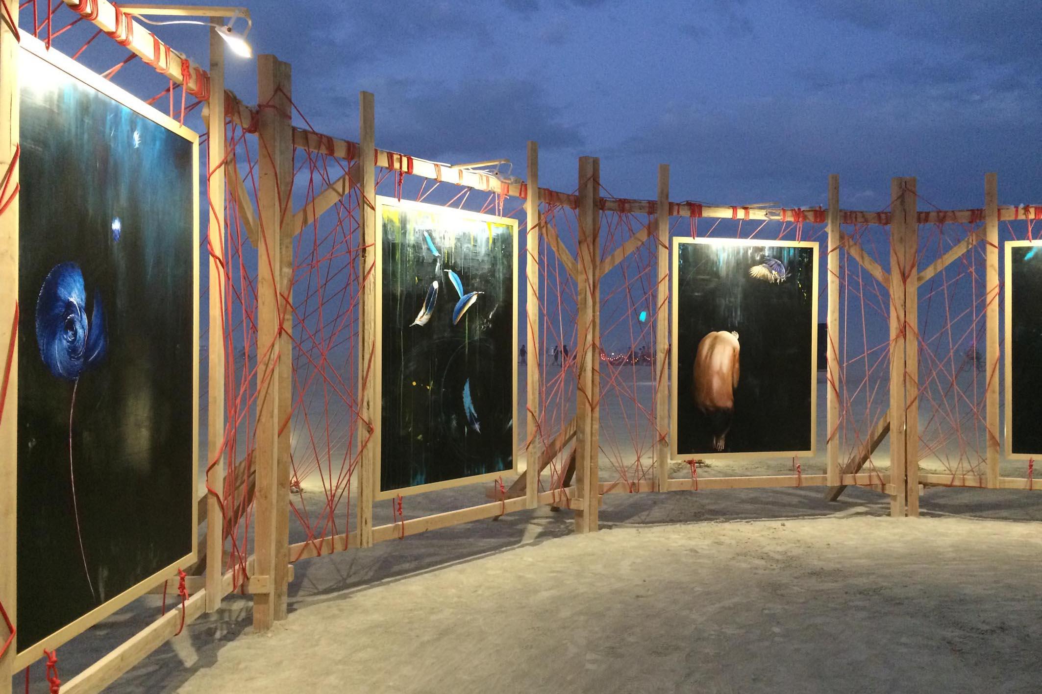 BurningMan 2017 Radical Rituals Art Project Installation 13