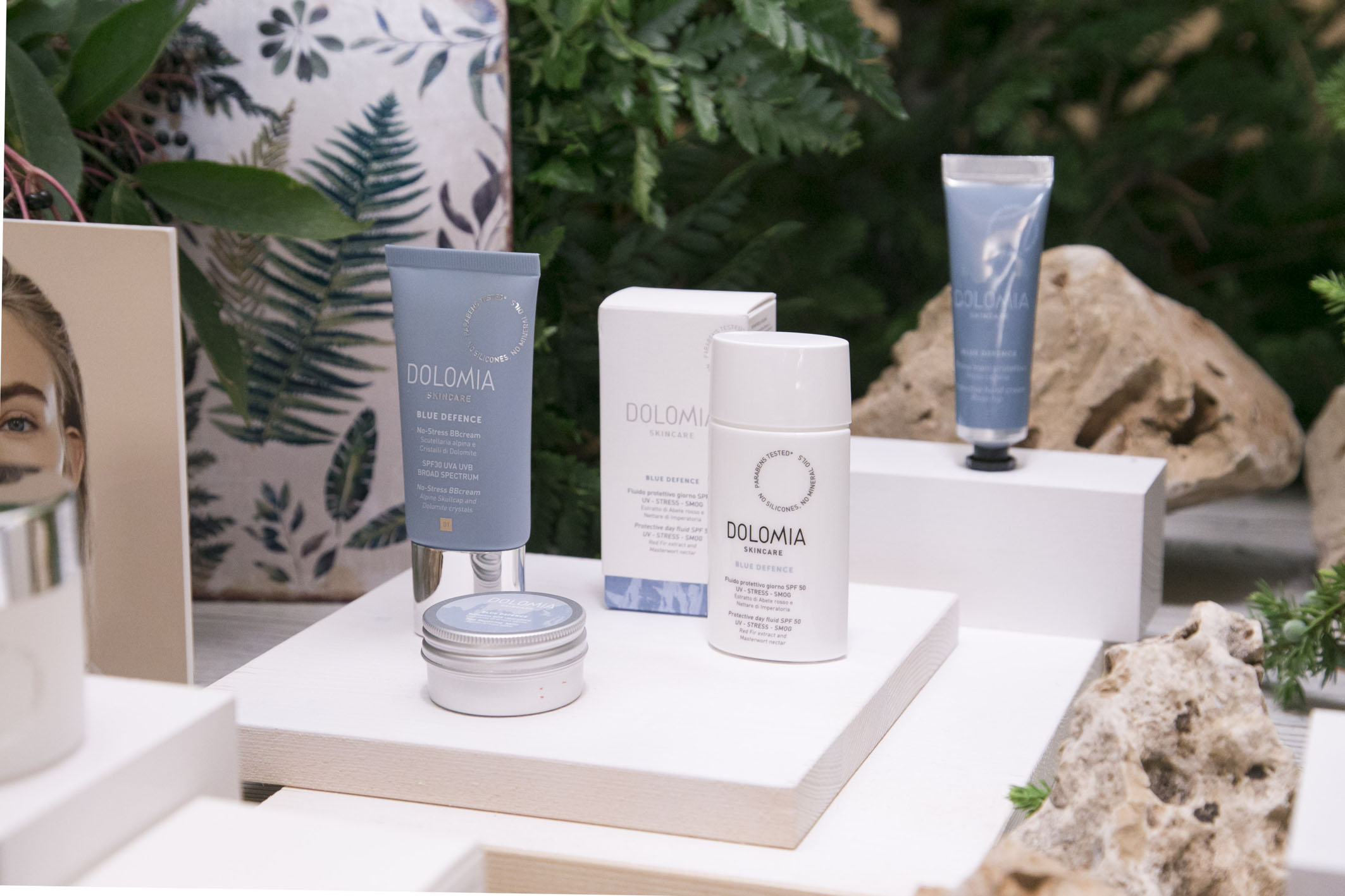 Dolomia Skincare new launch set styling project @ Fioraio Bianchi 03