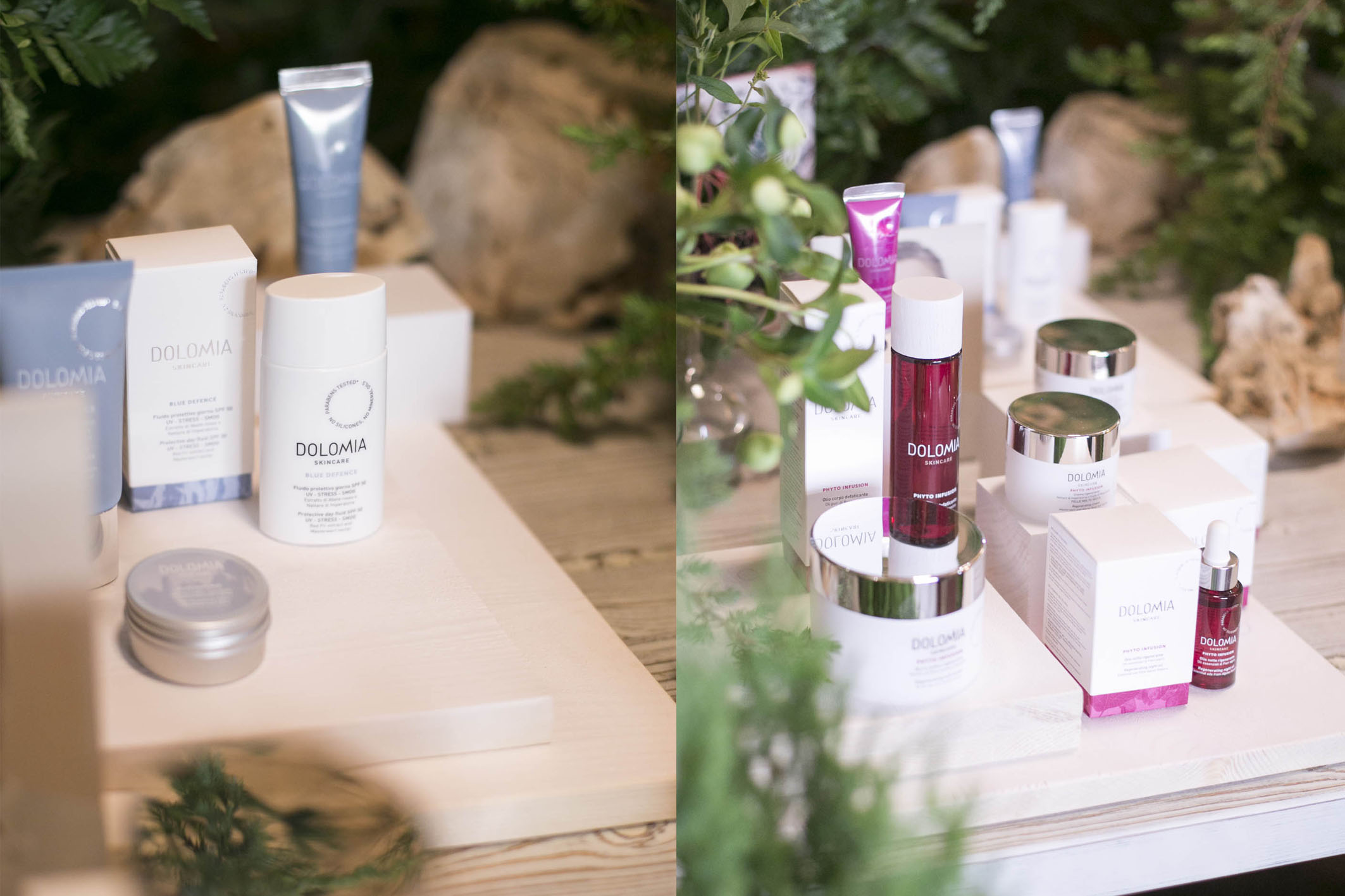 Dolomia Skincare new launch set styling project @ Fioraio Bianchi 05