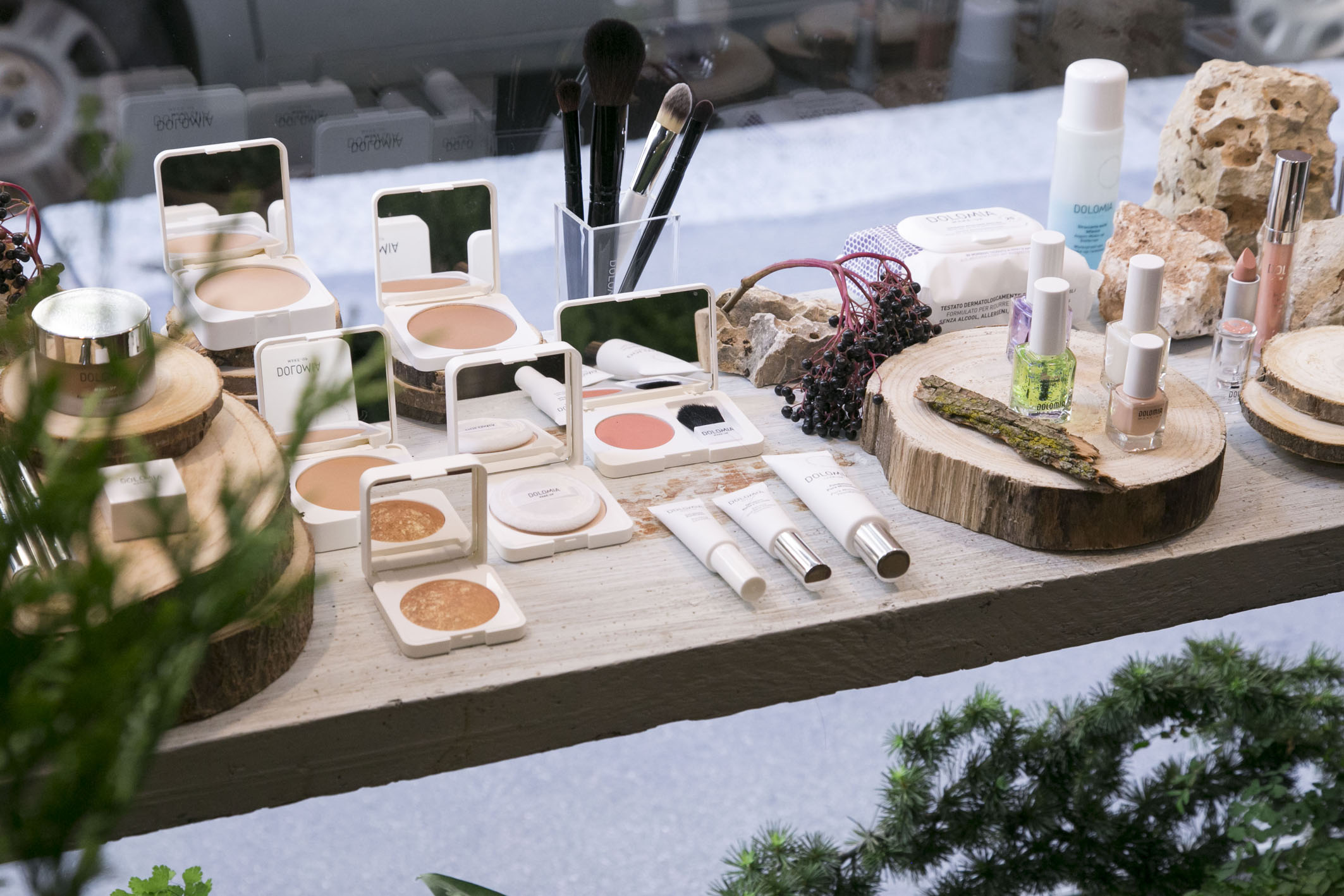 Dolomia Skincare new launch set styling project @ Fioraio Bianchi 08