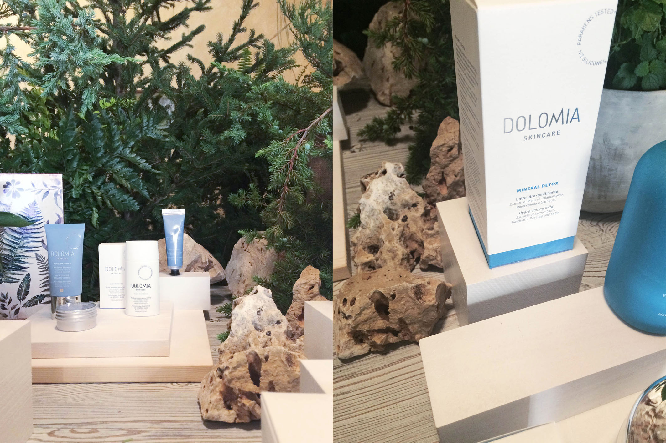 Dolomia Skincare new launch set styling project @ Fioraio Bianchi 10