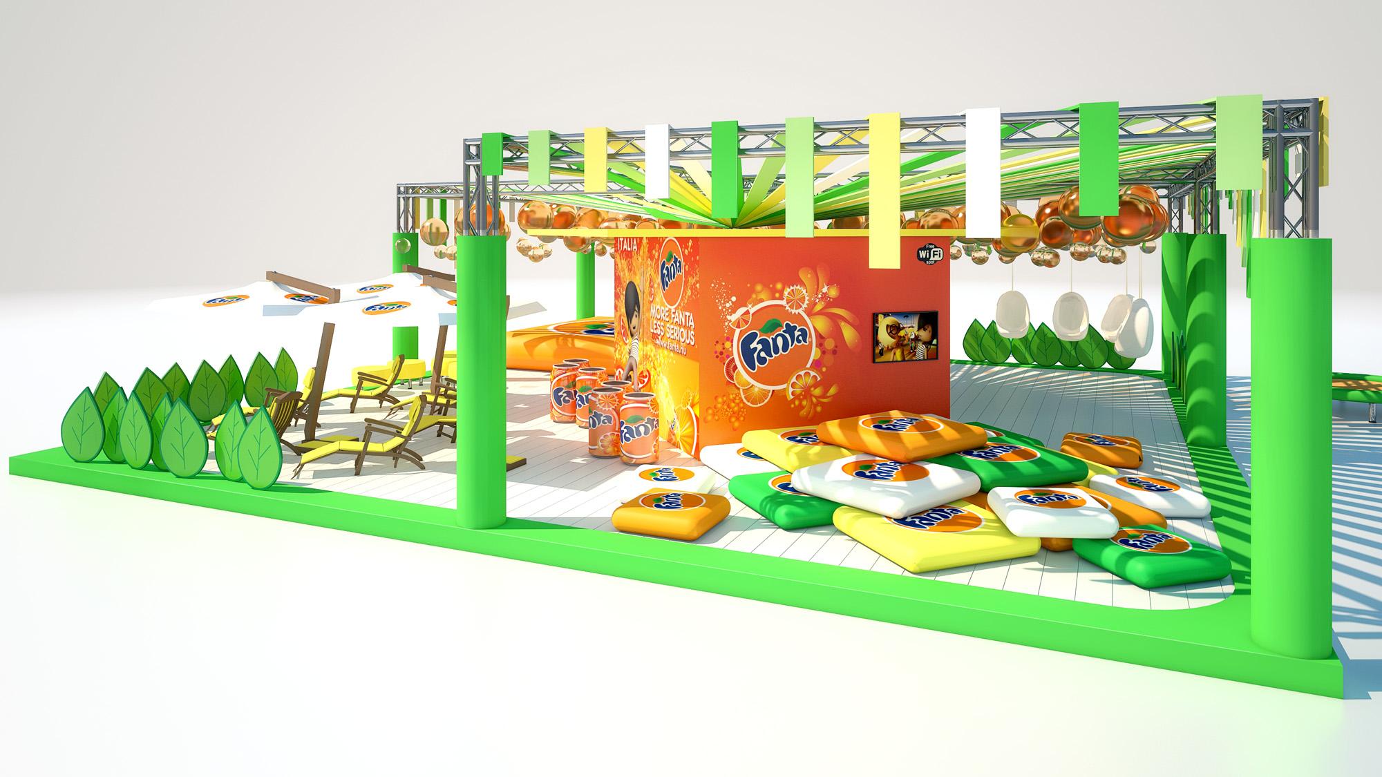 Fanta Tour Beach Party stand area 2011 02