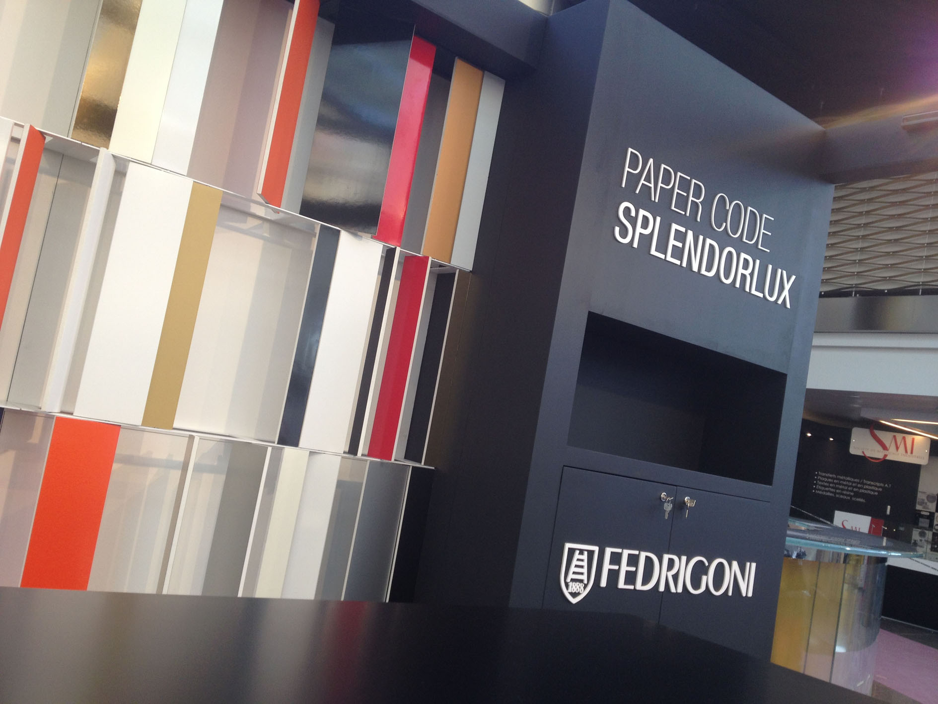 Fedrigoni Papers Splendorlux collection stand LuxePack Montecarlo design project 04