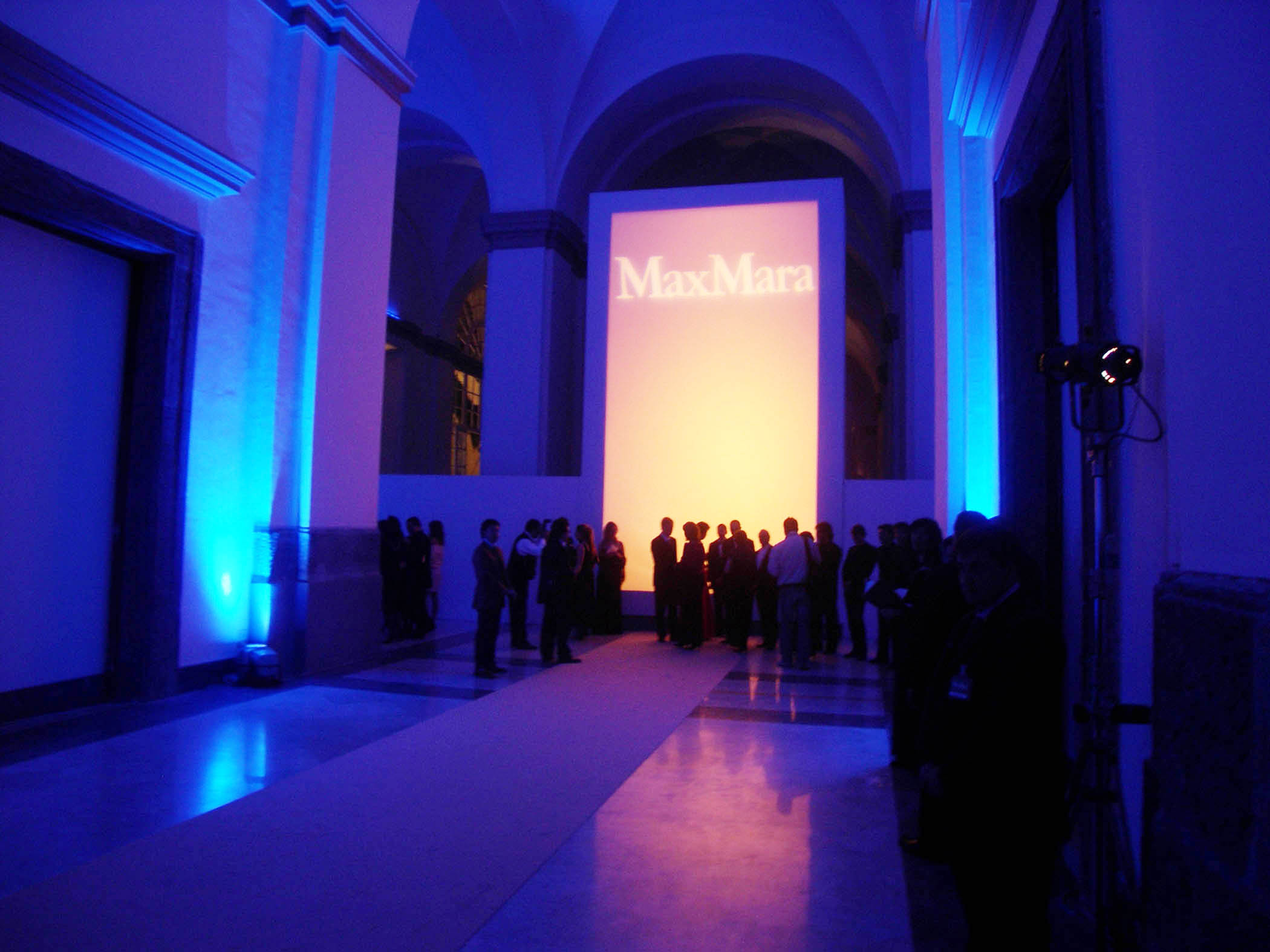 MaxMara Fragrance Launch Napoli Museo Archeologico Gala Dinner Project Production 02