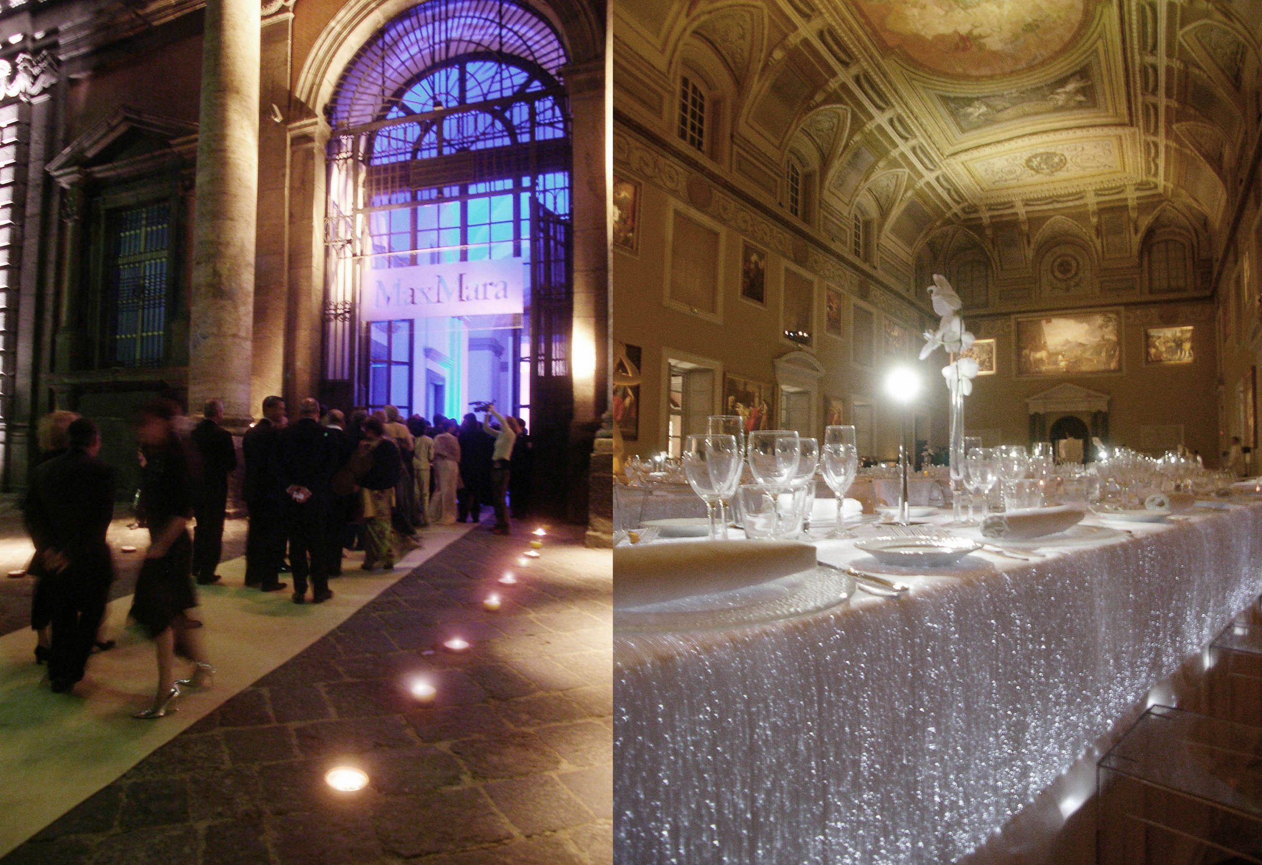 MaxMara Fragrance Launch Napoli Museo Archeologico Gala Dinner Project Production 04