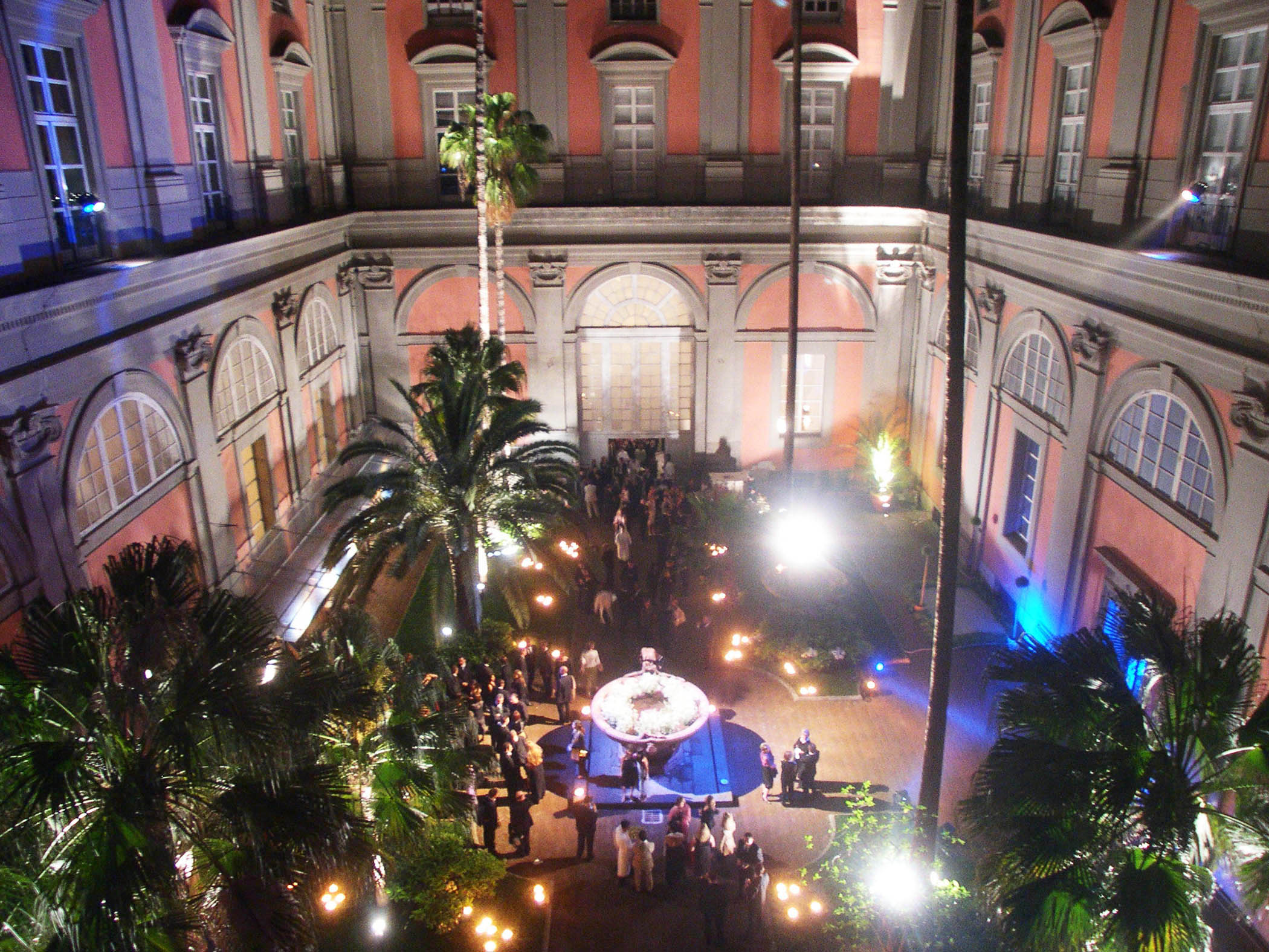 MaxMara Fragrance Launch Napoli Museo Archeologico Gala Dinner Project Production 05