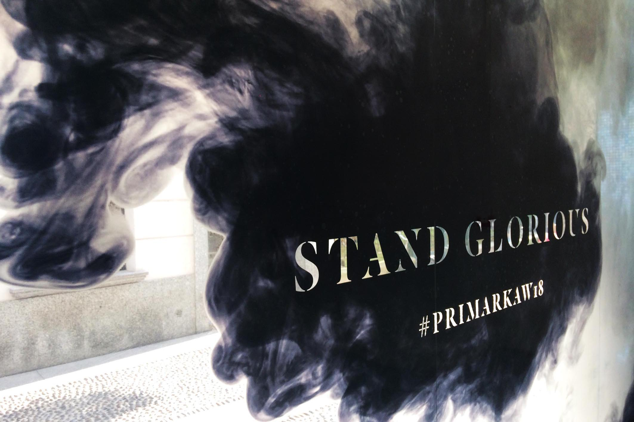 Primark Stand Glorious Event Styling Visual Project @ Rimessa dei Fiori Brera 12