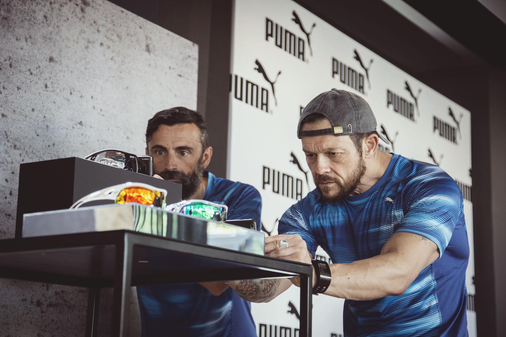 Puma EyeWear PressDay setup Attila&Co Canottieri Olona 02