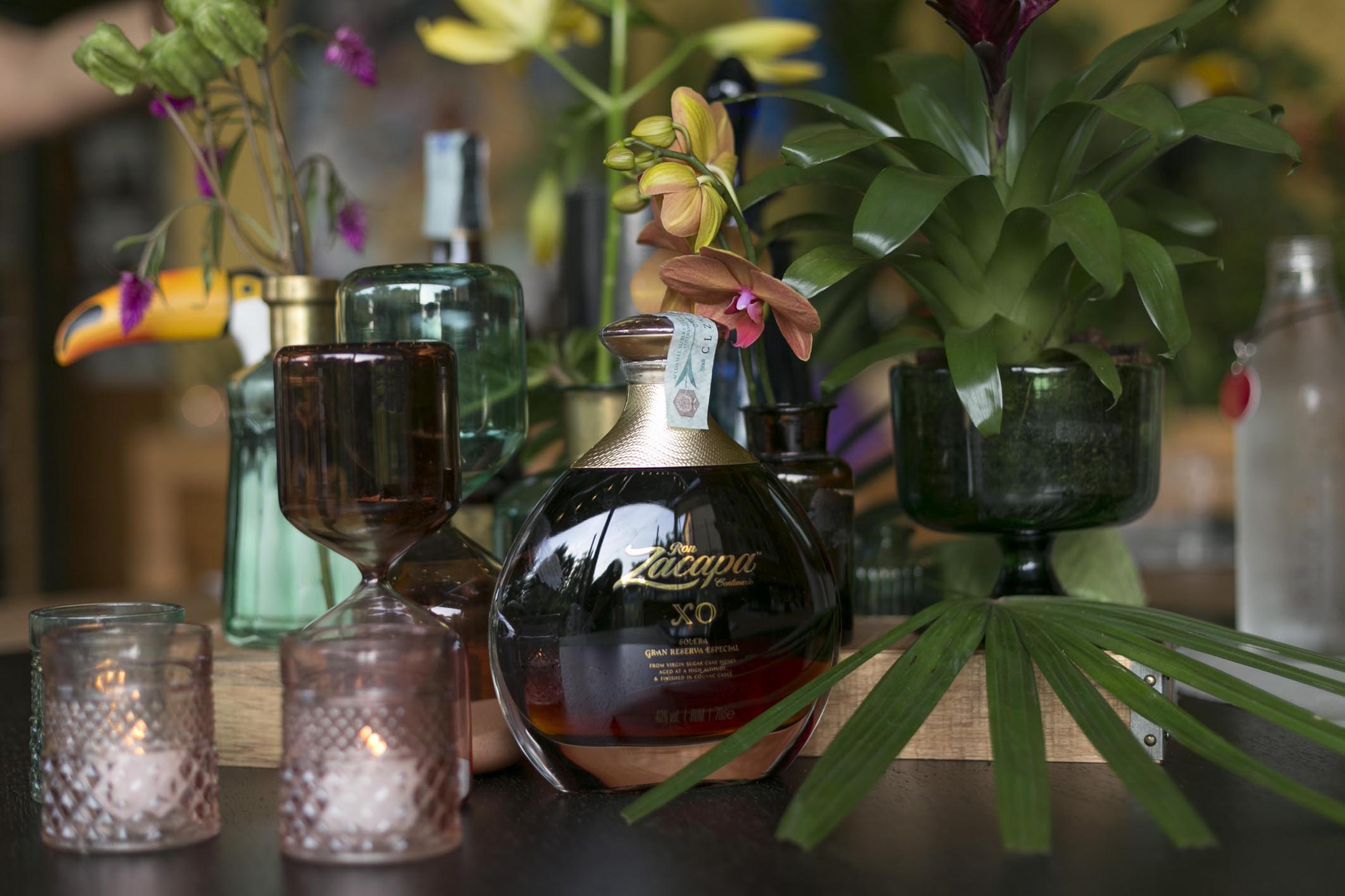 Zacapa Ron Alchemy Set Styling Tropical Mexiacan Erba Brusca Influencers and blogger Dinner  10