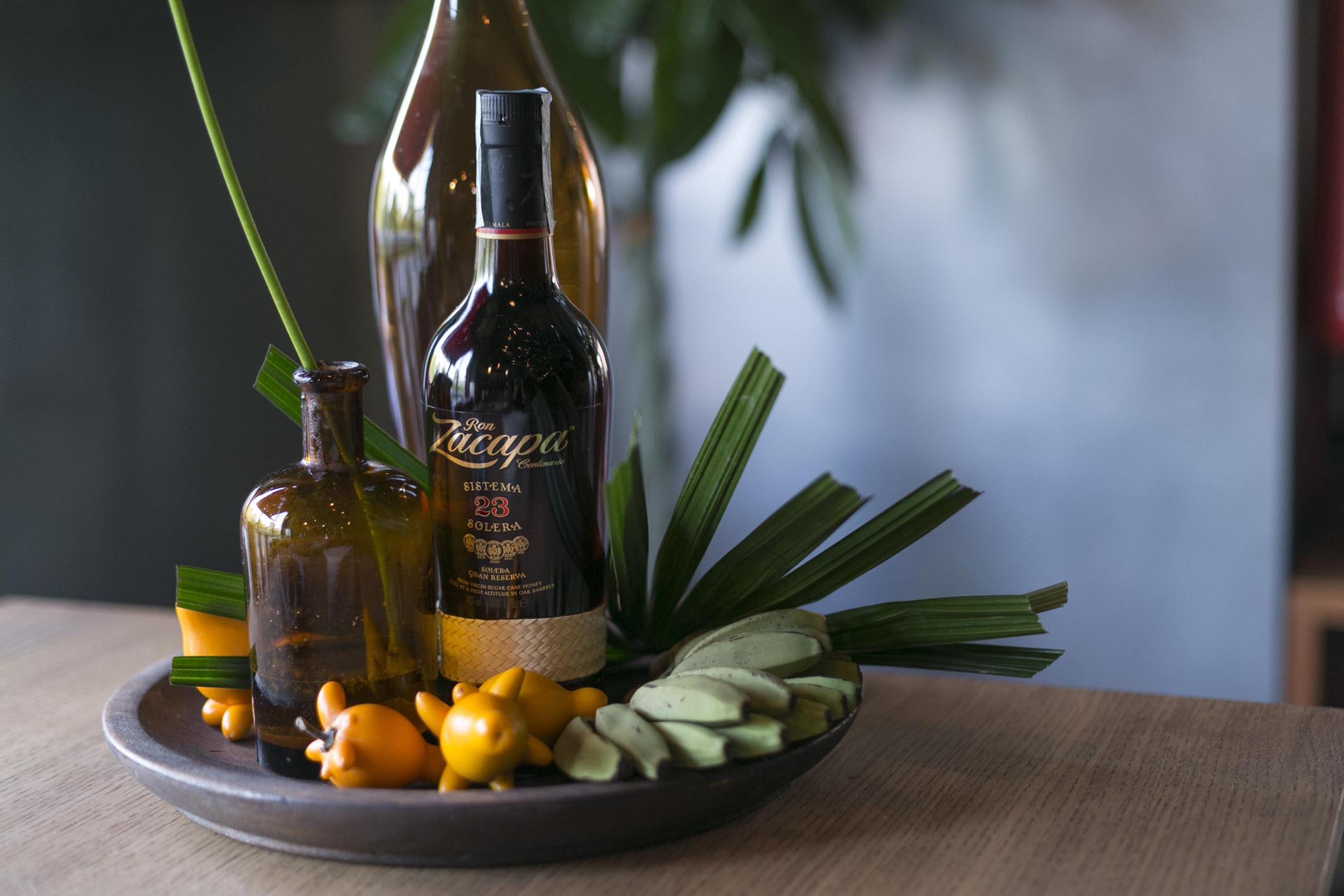 Zacapa Ron Alchemy Set Styling Tropical Mexiacan Erba Brusca Influencers and blogger Dinner  11